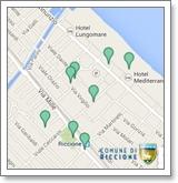 Mappa Access Point Riccione Wi-Fi